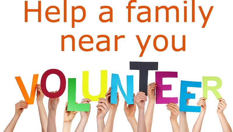 Volunteering to help families in Ealing